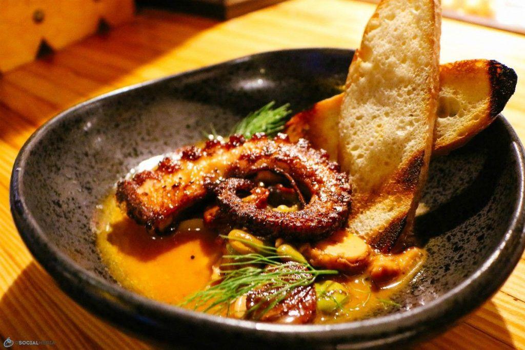 Octopus At Jargon Restaurant In Westasheville Nc Avleats Ashevillefoodie Cuisine Wavl Restaurant Recipes Food Food Tours