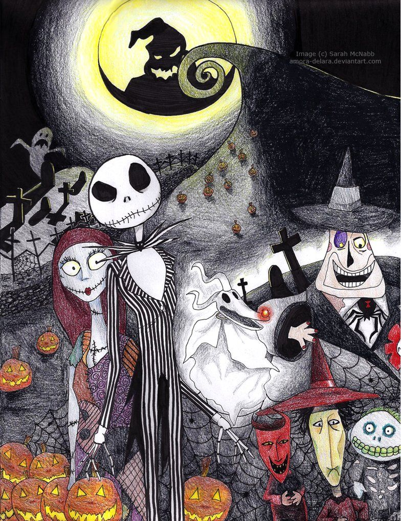 This is a photo of Geeky Nightmare Before Christmas Characters Pictures