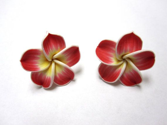 Day Of The Dead Red Yellow Hibiscus Cufflinks  by sweetie2sweetie, $7.99