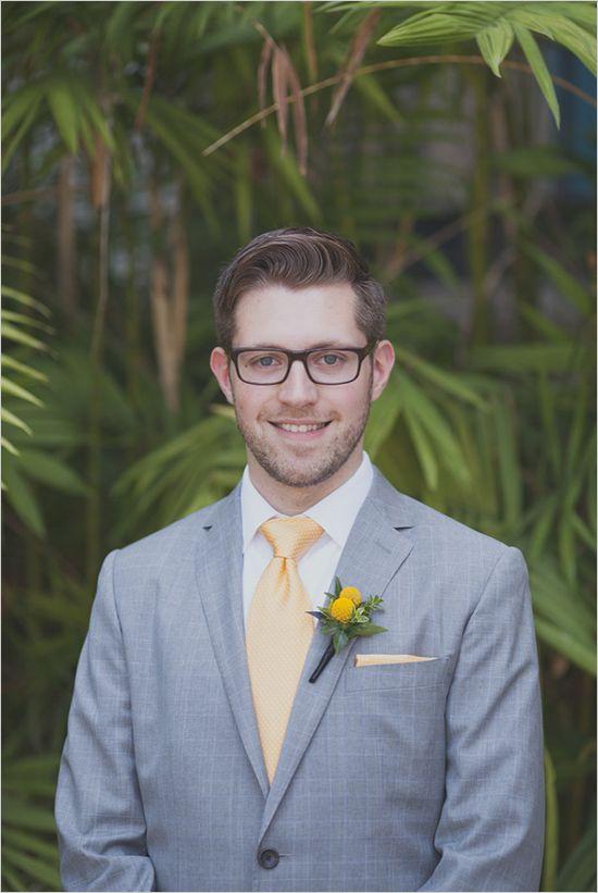 yellow and gray groomsman idea http://www.hotchocolates.co.uk http://www.blog.hotchocolates.co.uk