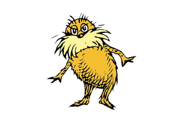 the lorax children s literary characters pinterest lorax rh pinterest ie the lorax clipart black and white