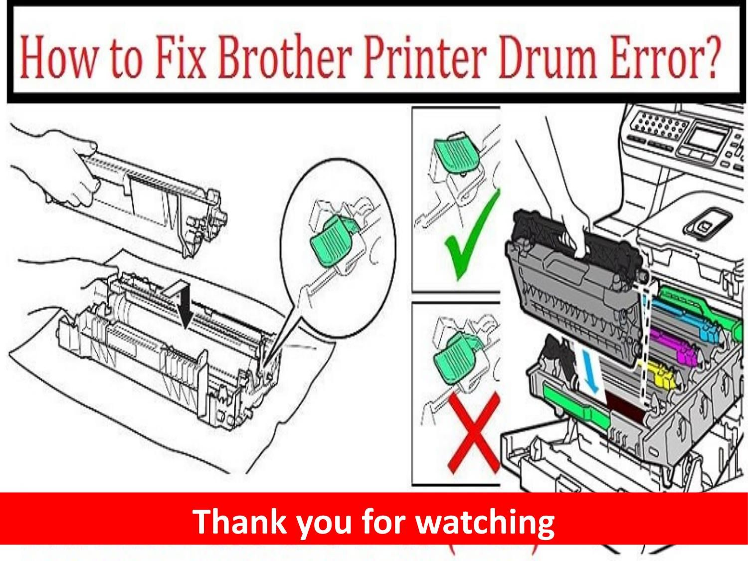 Call 1 888 678 5401 How To Fix Printer Drum With Images