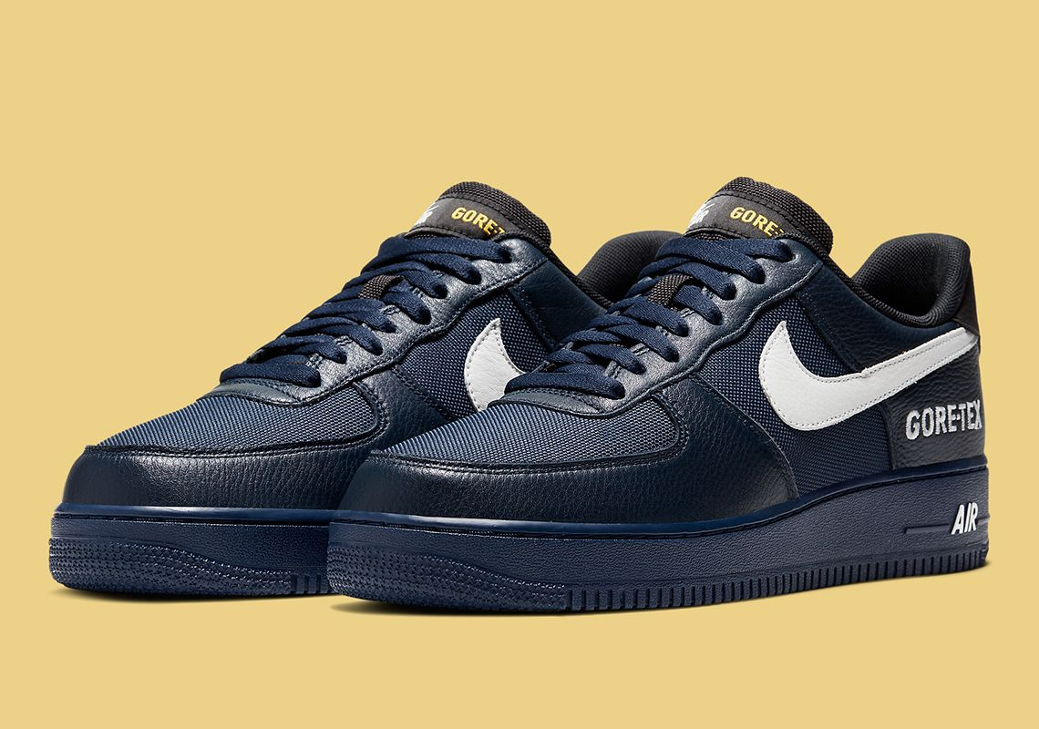 navy blue air force ones low