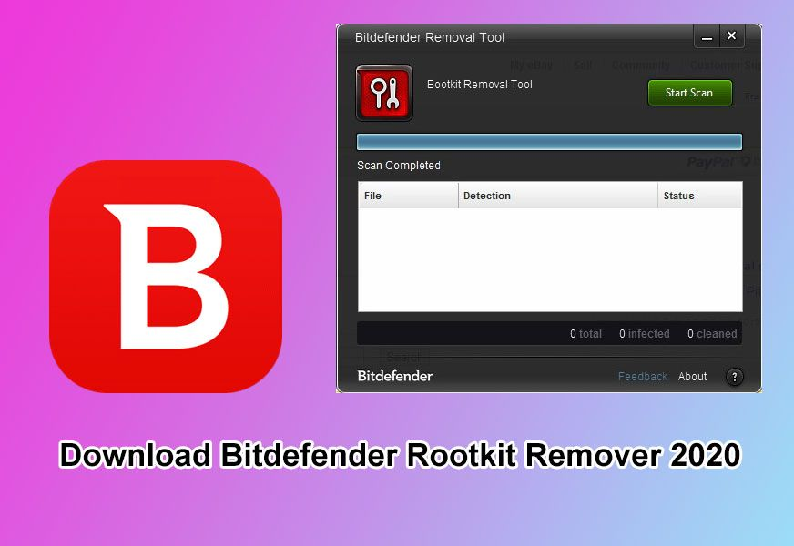 Download Bitdefender Rootkit Remover 2020 How to remove