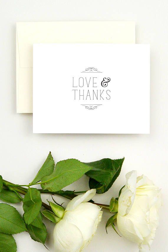 Wedding Thank You Note Cards - Thank You Notes Wedding - Thank You