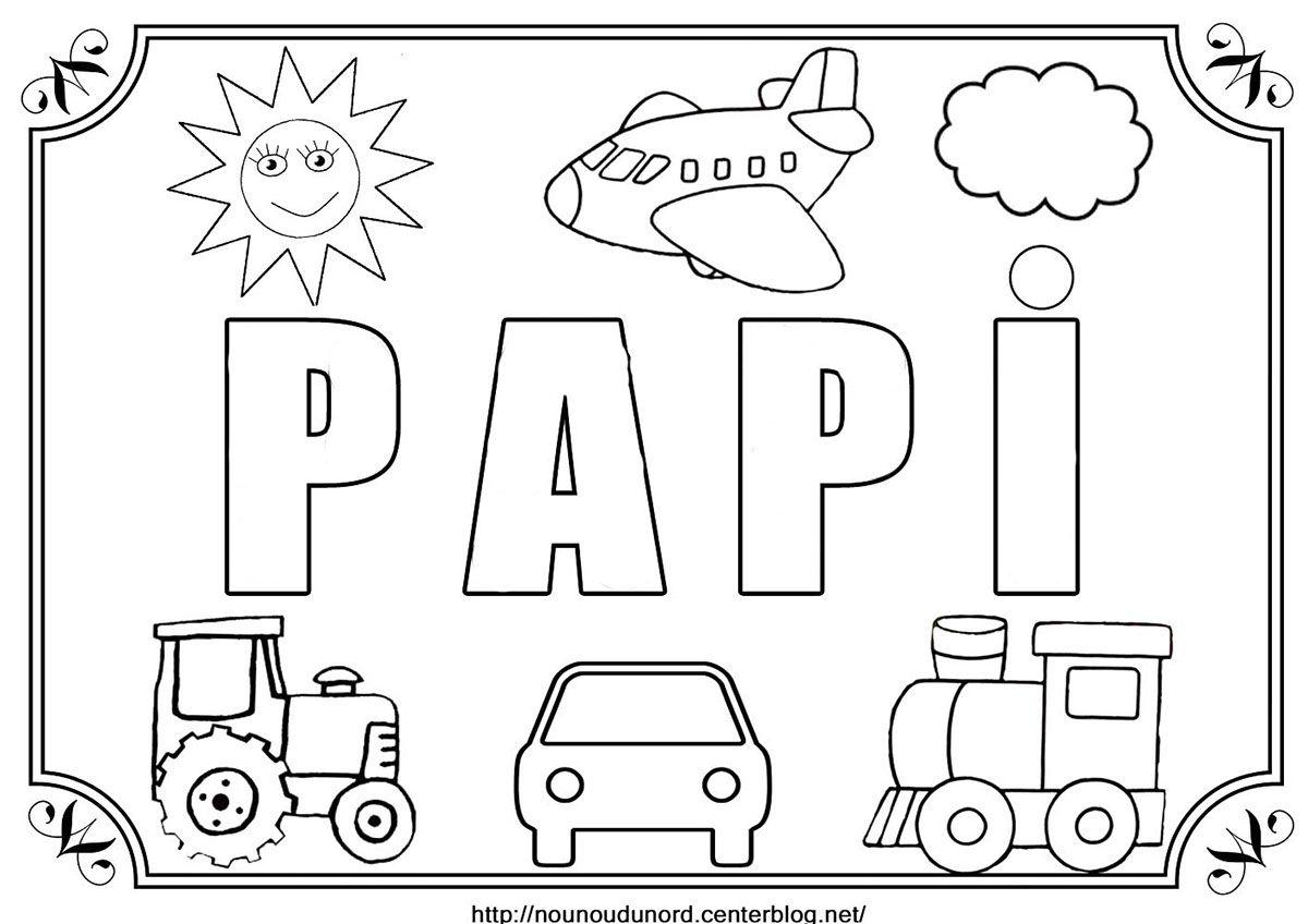 Papi Cocloriage Jpg Fichiers Partages Acrobat Com Coloriage Anniversaire Fete Des Papi Bonne Fetes Papa