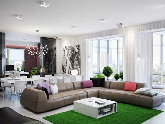 grüne moderne teppiche - super schönes sofa | Wohnzimmer ...