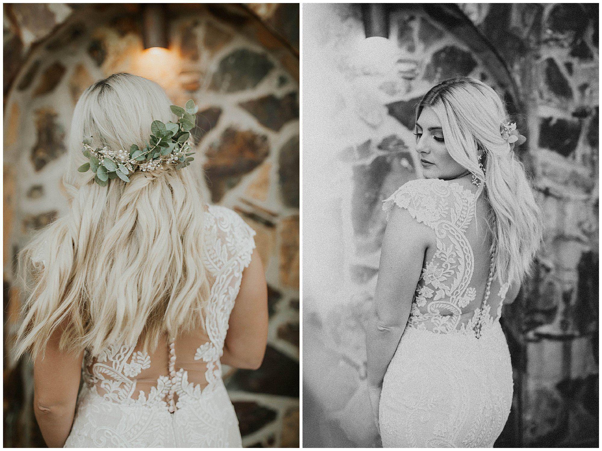 Ivory Bridal Photos at Wolf Lakes, Fresno