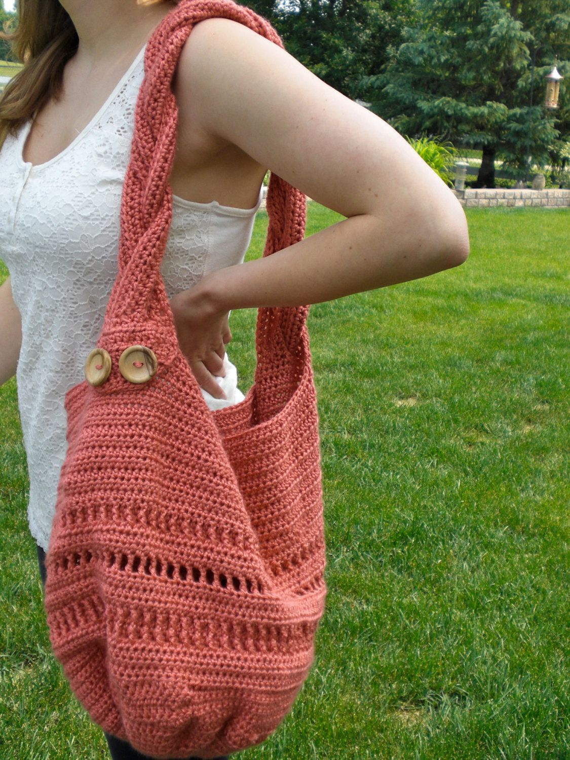 Crochet bag pattern summer meadow tote bag with braided strap crochet bag pattern summer meadow tote bag di barefootdesignsshop 550 bankloansurffo Gallery