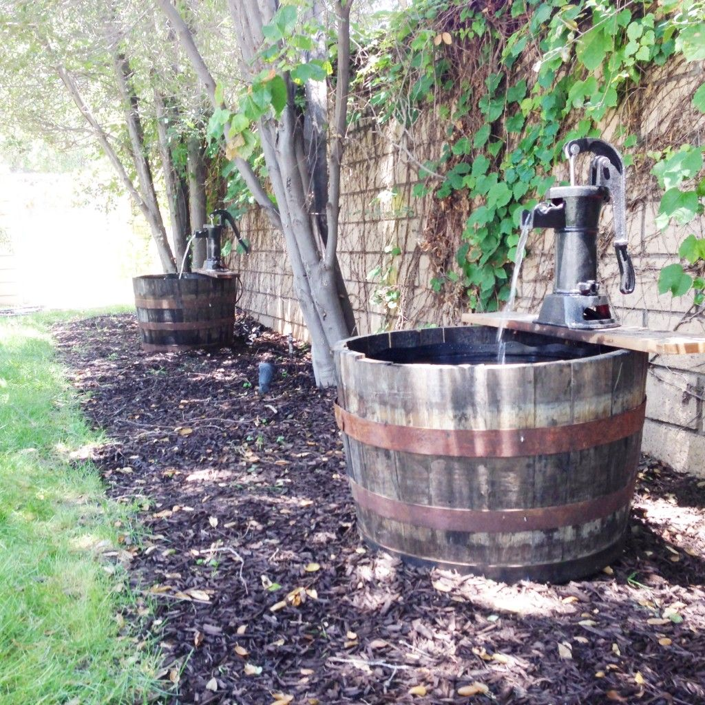 Whiskey Barrel Water Fountain In 3 Easy Steps