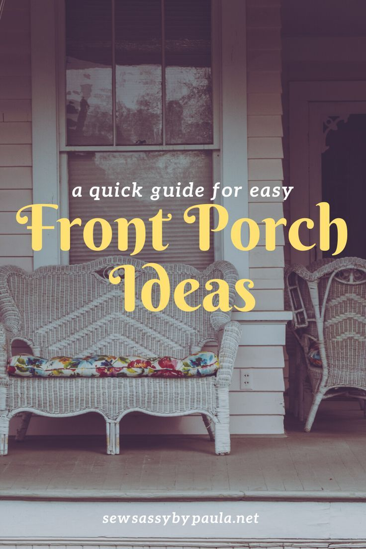 I share some quick and easy ways to perk up your front porch for the Spring and Summer.  #frontporch   #summerporch   #ontheporch   #porchideas