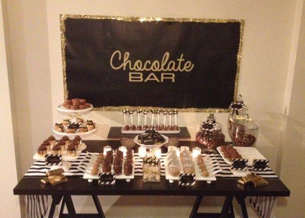 Chocolate Buffet Chocolate Buffet Candy Bar Birthday