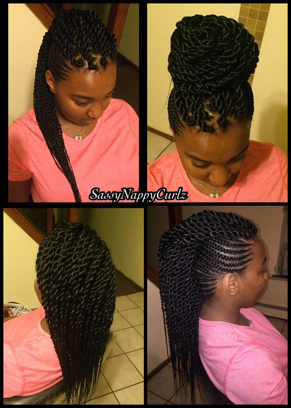Ghana braids mohawk ghanabraids style afrique pinterest