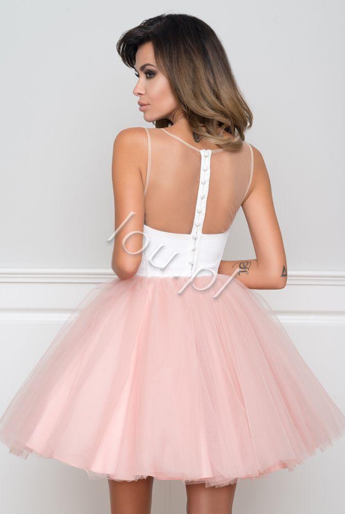 Anastasia Tiulowa Sukienka Z Haftem Simple Dresses Short Poofy Dresses Short Dresses