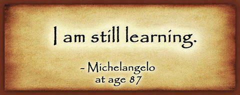 True Learning Has No Age Bar Motivational Pinterest