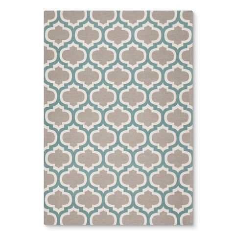 Threshold Indoor Outdoor Fretwork Rug With Images Flat Woven