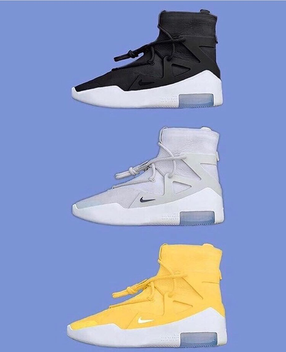 """Ten cuidado pobreza paquete  Heat Central Brotherhood on Instagram: """"Nike Air Fear Of God 1 - Which Pair  Is Your Favourite (15 December) 📸 @onusin… 
