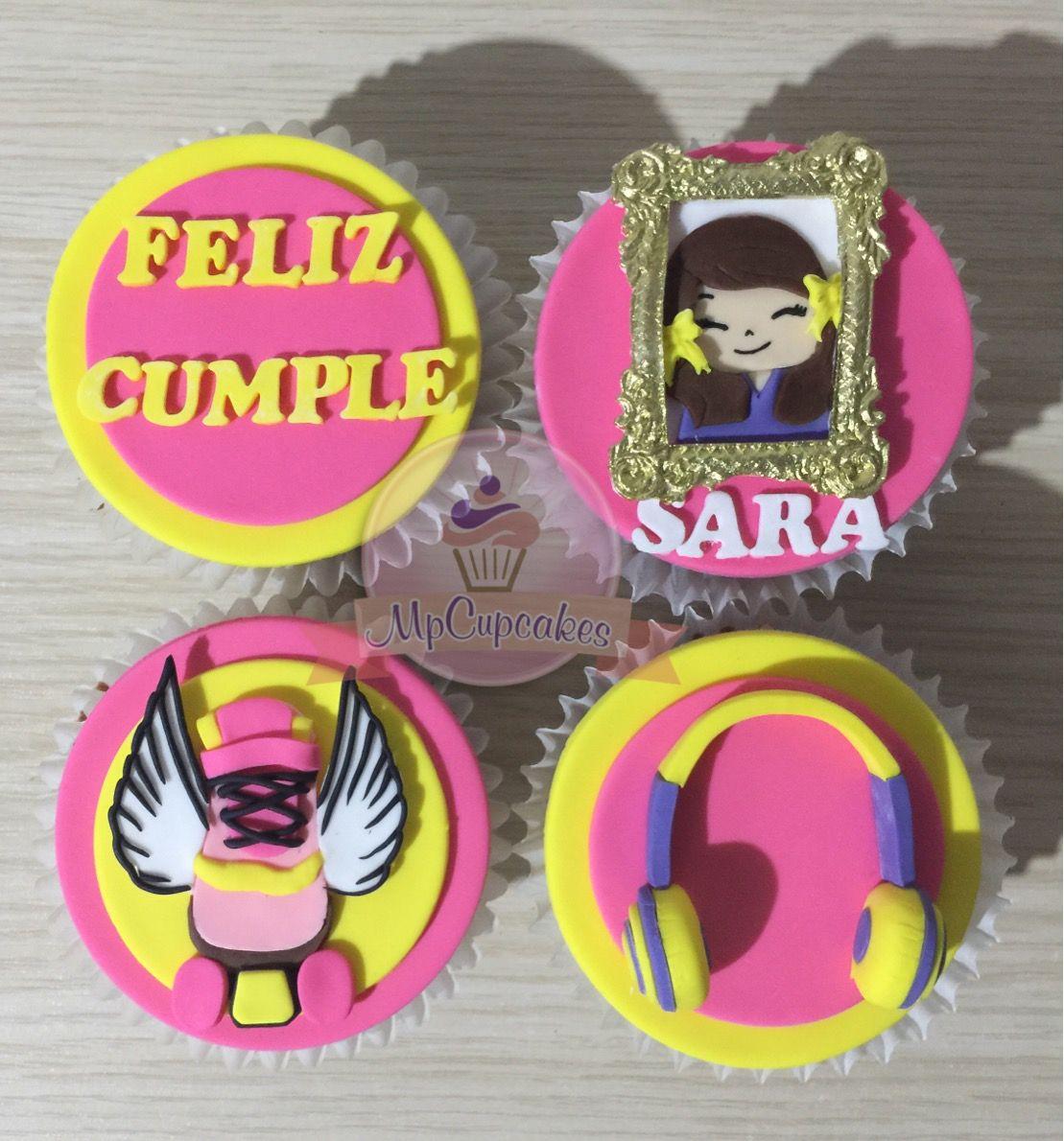 Cupcake Soy Luna Cupcake Cumplea 241 O Cupcakes Y Tortas