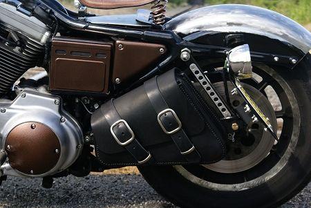 Bobber Bag Amp Bracket Package For Harley Sportster Save