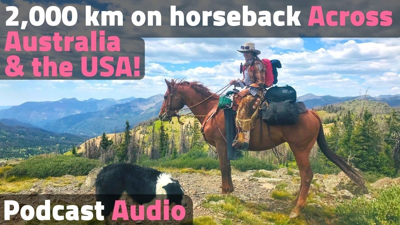 Over 2,000 Kilometers on Horseback Long Distance Horse