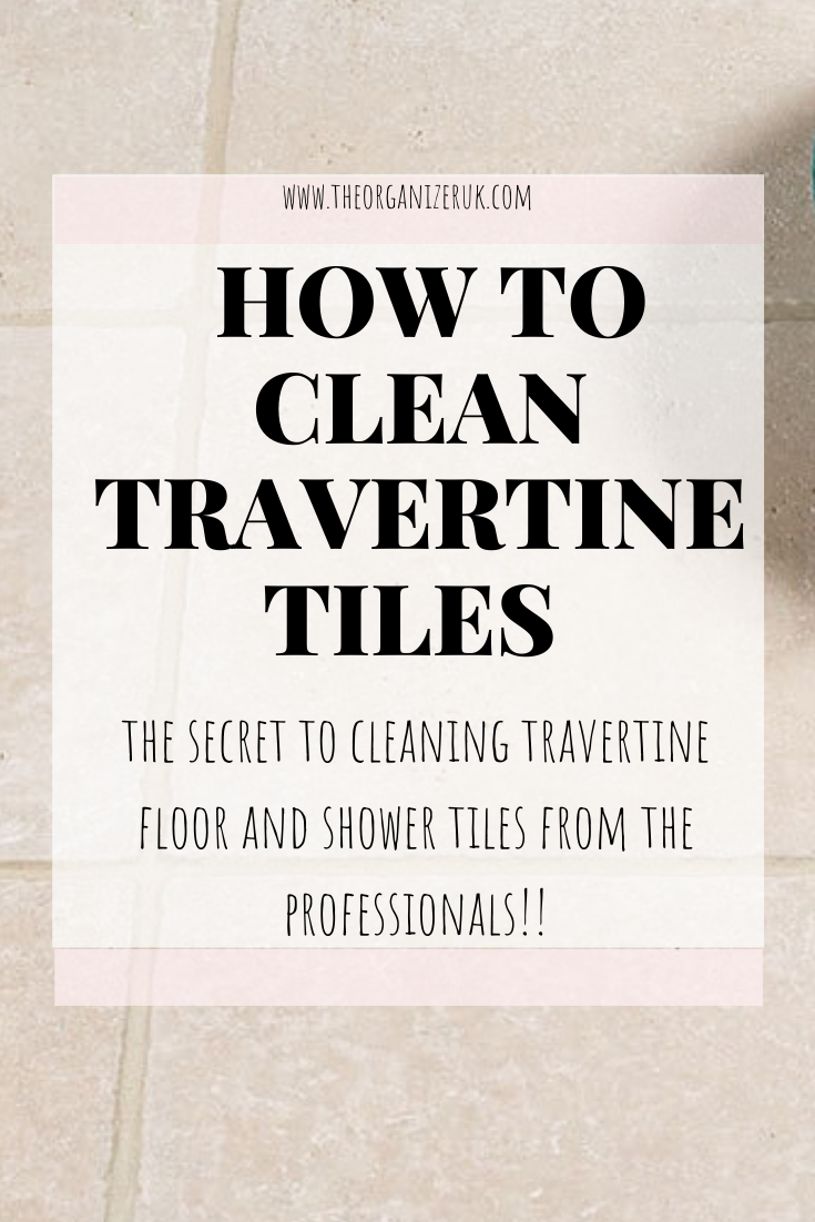 Learn How To Clean Travertine Like A Professional. in 2020