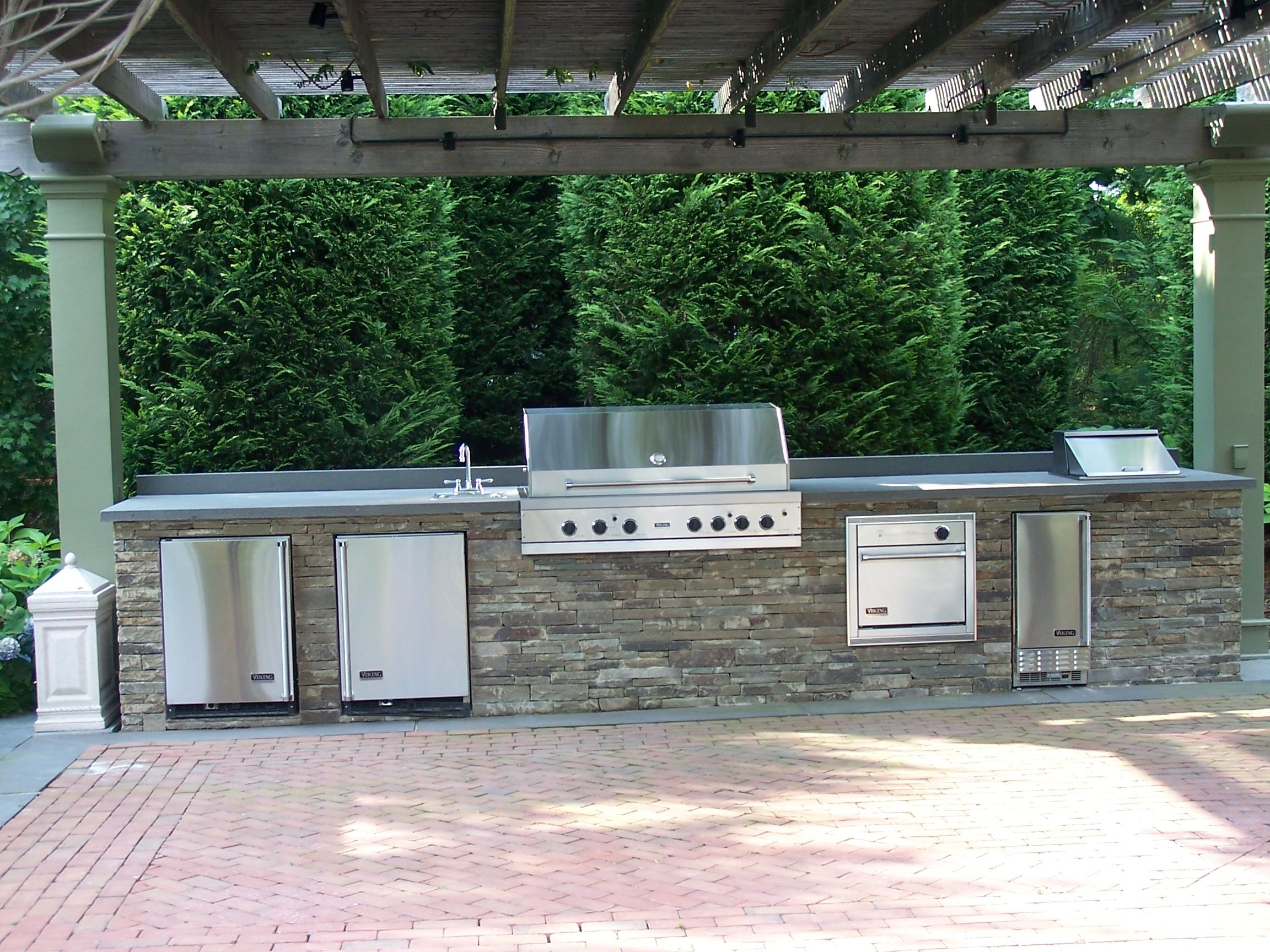 Aire Libre Out Door Entertaining Can Make Any Size There Great