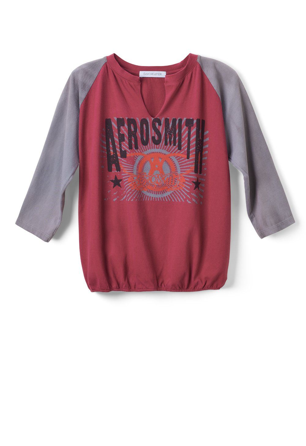 Aerosmith Double Logo Slouchy Raglan In 2019 Cute Clothes And