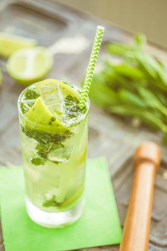 Virgin Mojito Or Nojito Alcohol Free Cocktail Brain Food Studio Resep