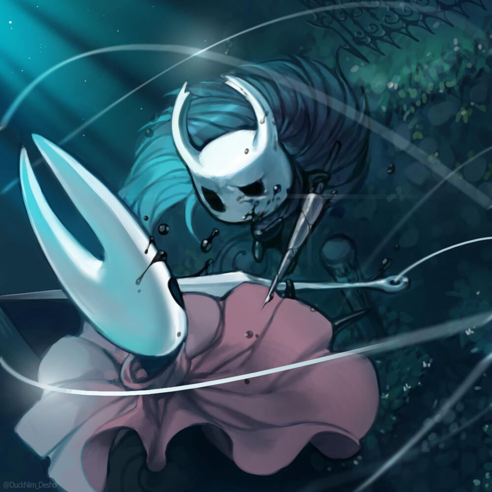 Artstation Hollow Knight Hornet Sujin Park Hollow Art Game Art Knight