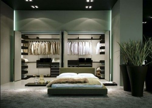 presotto walk in closet at bedroom Home improvement and decoration
