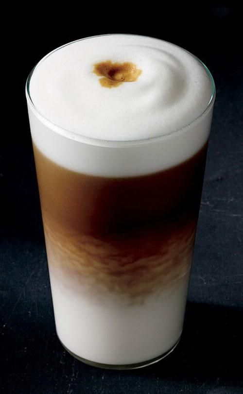 Starbucks' newest drink is the Latte Macchiato. WTF is that? #lattemacchiato