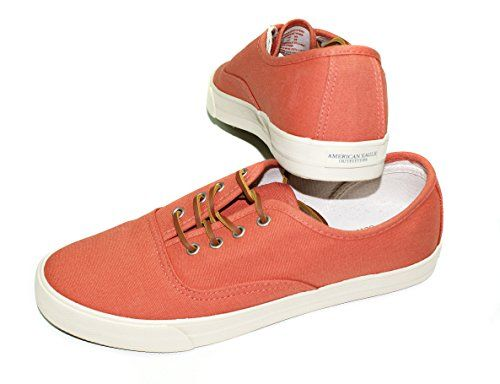 American Eagle Womens Laceup Canvas Sneaker Keds 10 Rust *** Check this awesome product by going to the link at the image.
