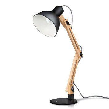 nouveau sélection codes promo couleur rapide Tomons Lampe Moderne de Table Lampe en Bois de Salon Design ...