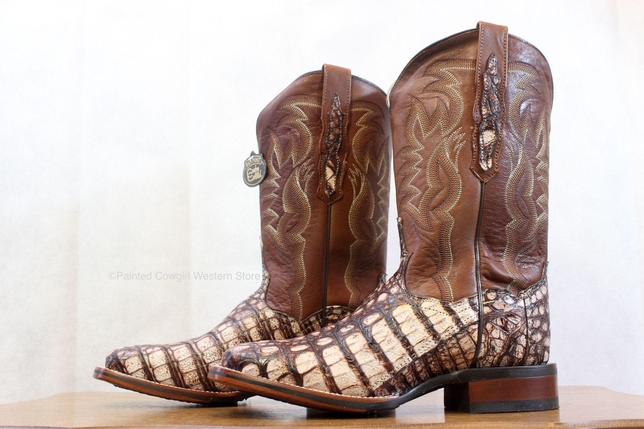 442630da71d Dan Post Cowboy Certified Women's Camel Everglades Flank Caiman ...