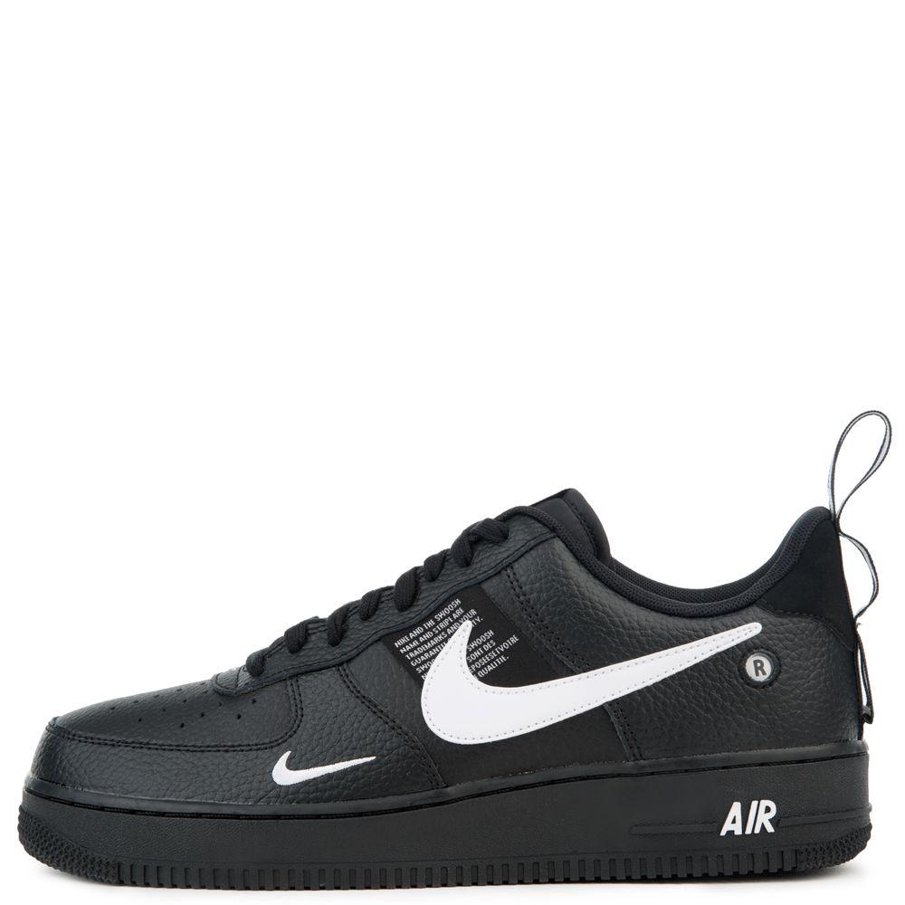Nike Air Force 1 07 Lv8 Utility Black White Black Tour Yellow Nike Nike Air Black Nikes