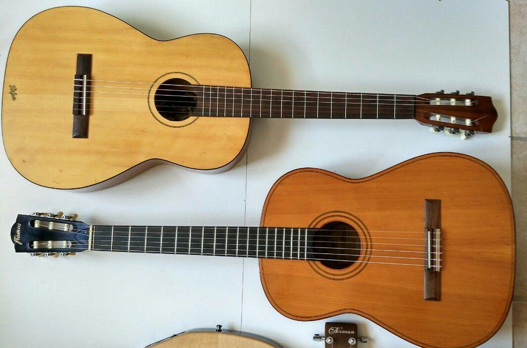 Welp a couple of german vintage classical guitars, a late 60's Framus GI-39