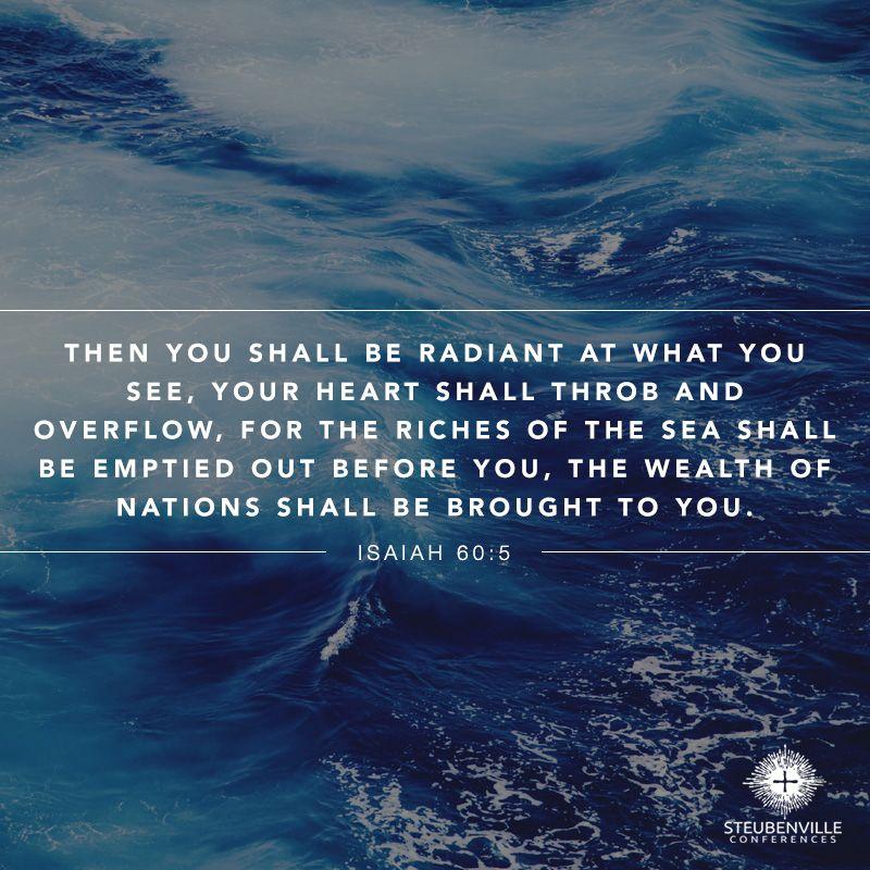 Isaiah 60:5