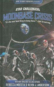 Review and Interview! Star Challengers: Moonbase Crisis by Rebecca Moesta and Kevin J. Anderson (Classroom uses: Asking Questions, Author's Purpose, Background Knowledge, Characterization, Inquiry, Making Connections, Setting; Recommended for: Teaching, Classroom Library, Read Aloud)