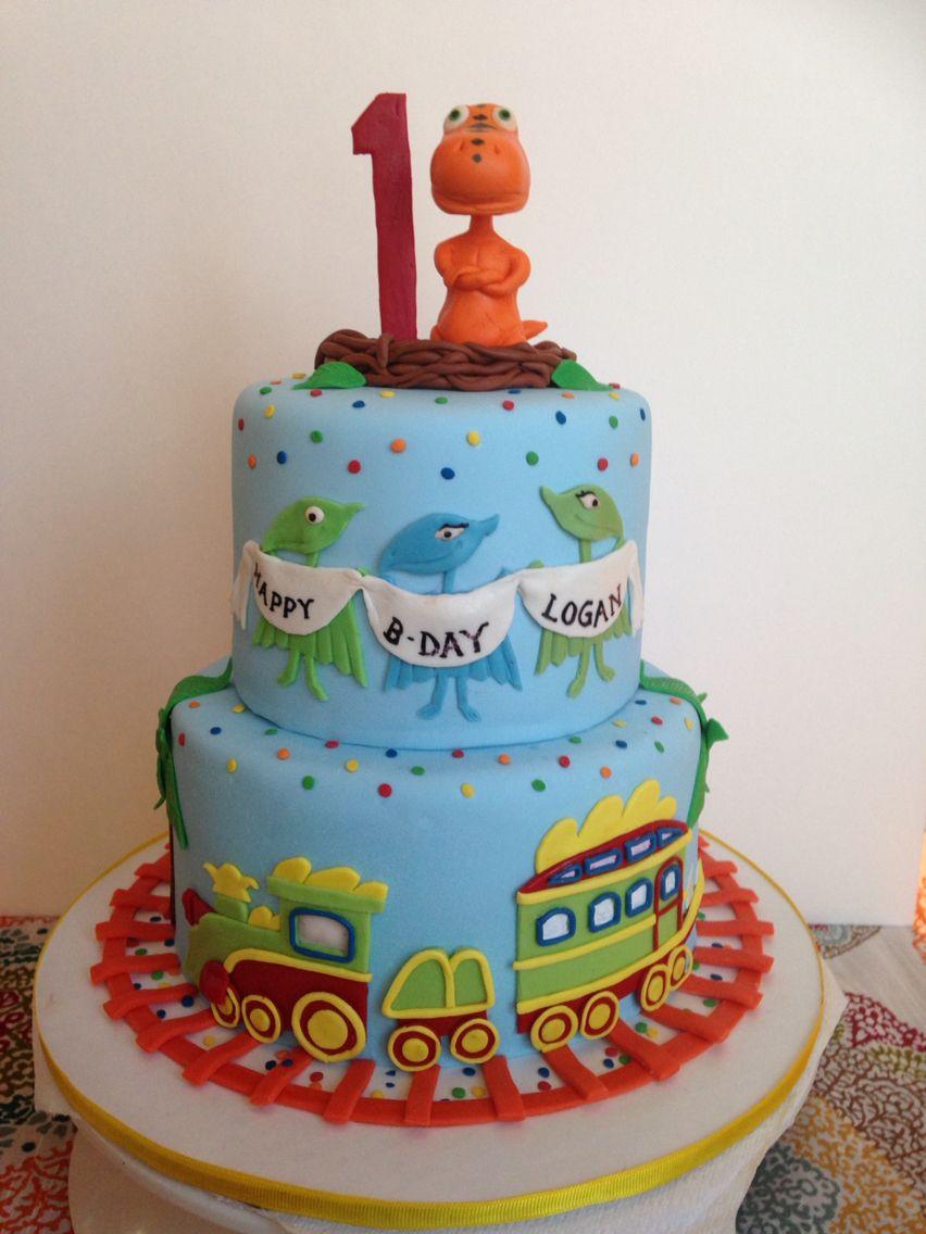 Dinosaur Train Cake First Birthday Ideas Pinterest Dinosaur
