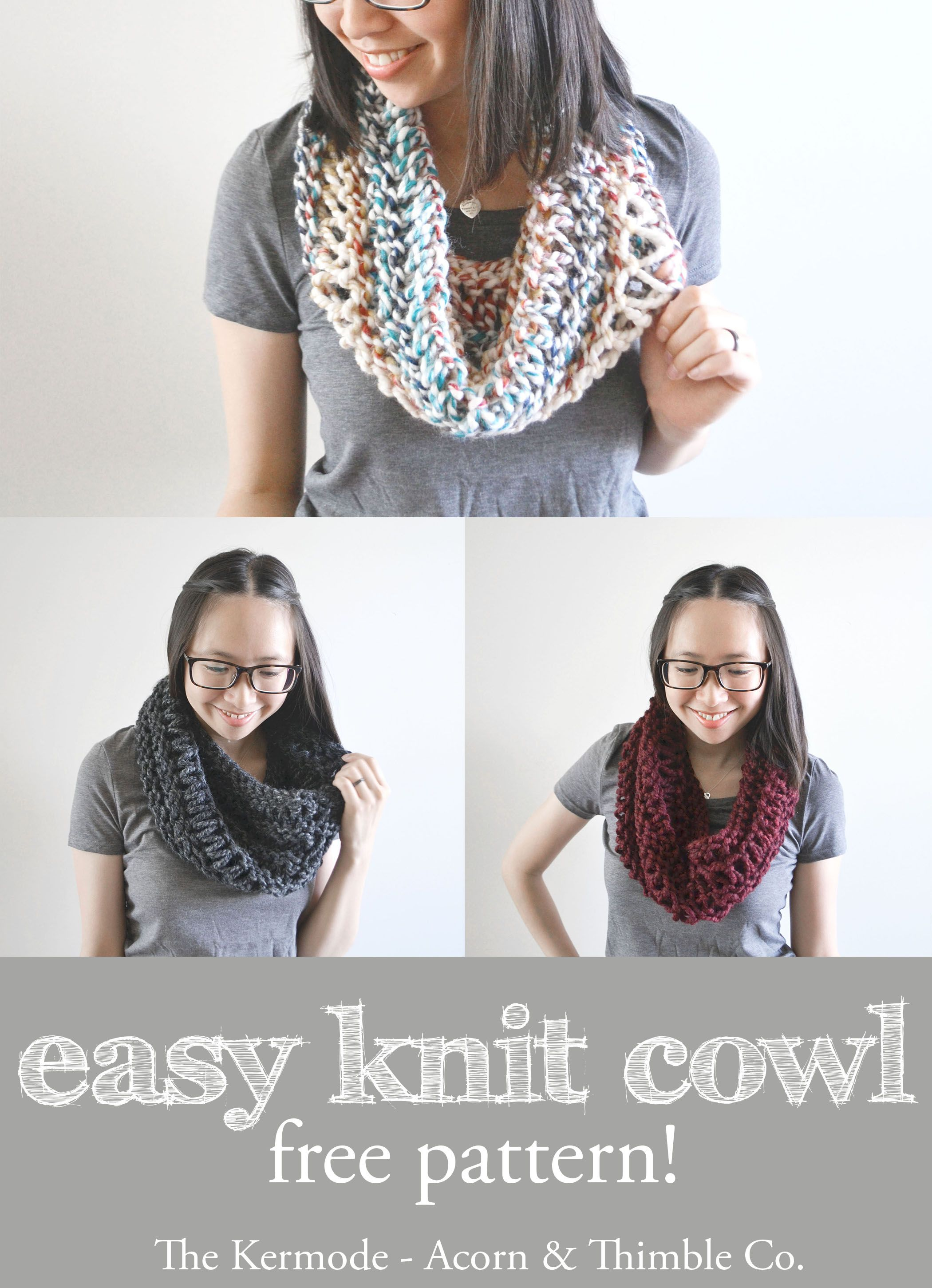 Easy beginner\'s scarf - quick and easy knitting pattern - free ...