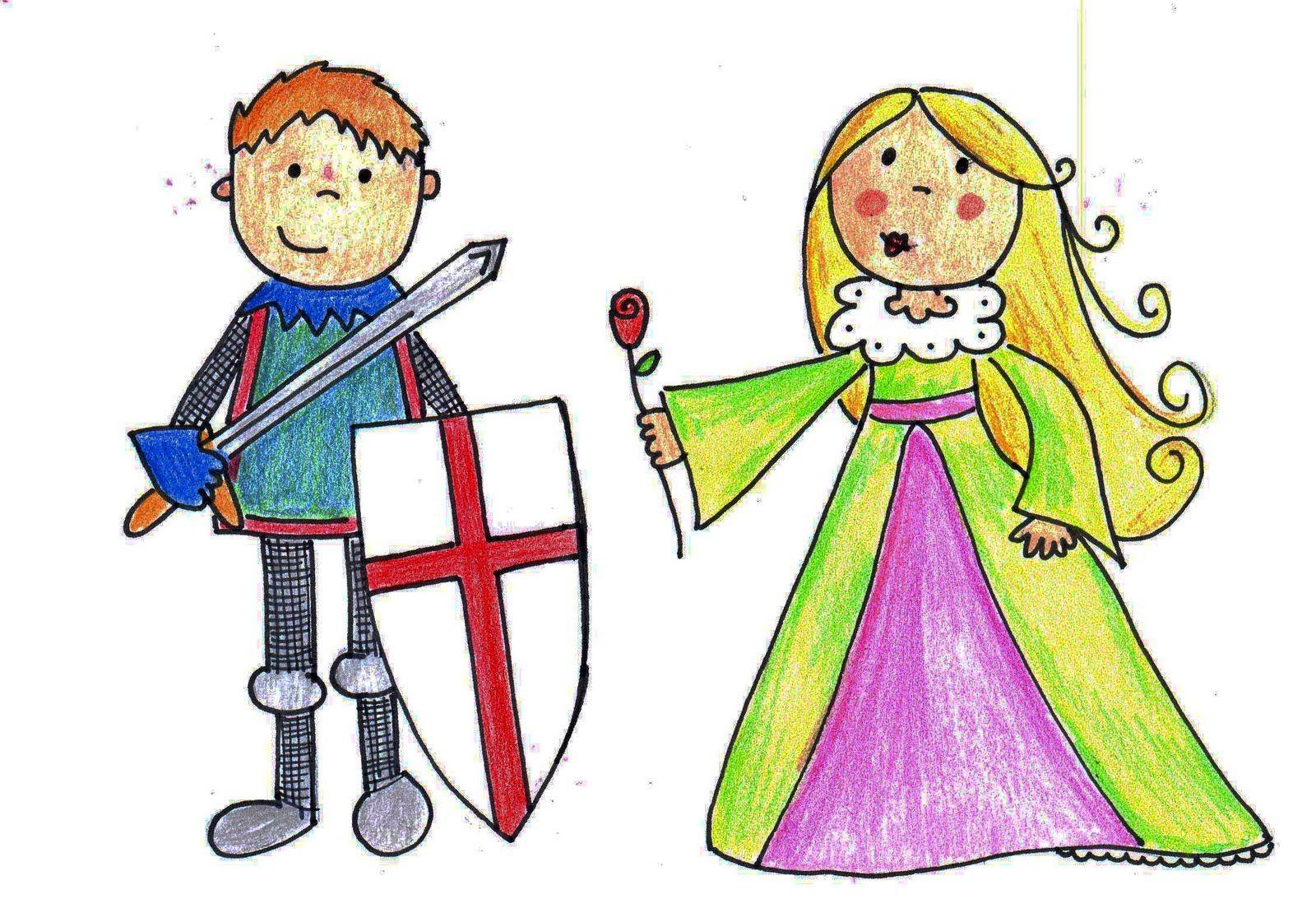 Sant Jordi y Violant