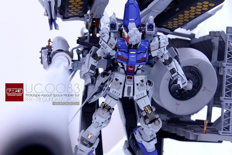 RX-78 Gundam GP03S + Weapon System by JGarage | Gundam Century