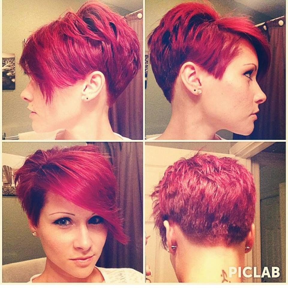 Kurzhaarfrisuren In Rot Fur Temperamentvolle Frauen Neue Frisur
