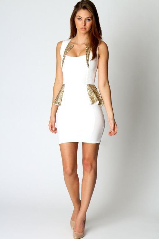 dress white gold