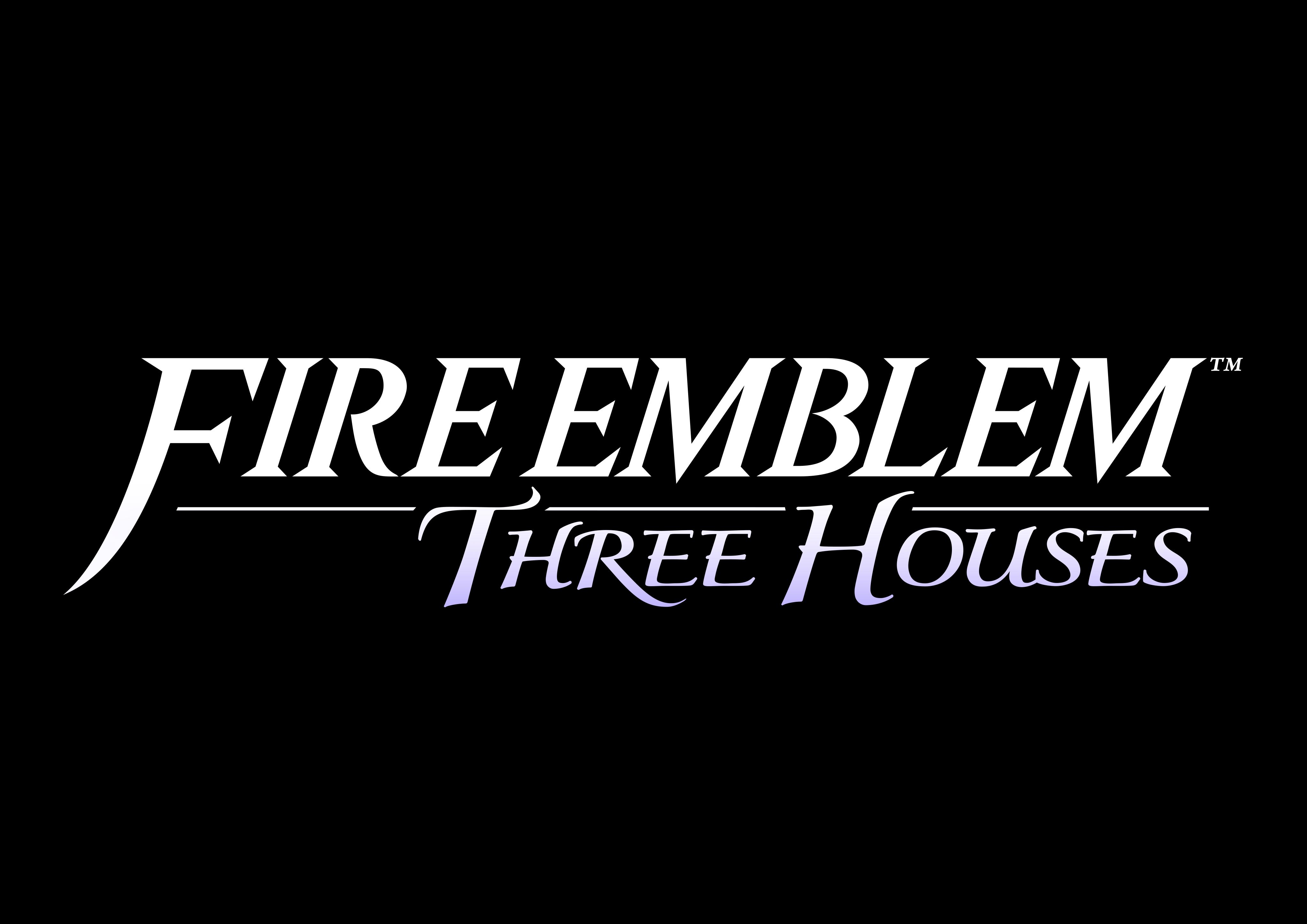 Fire Emblem Three Houses Black Logo Fire Emblem Home Logo Logos