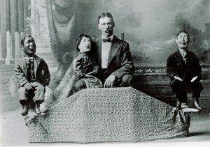 1800s ventriloquist