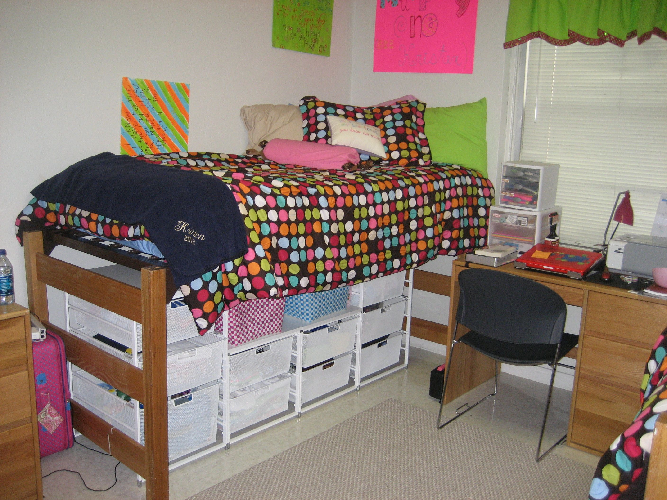 Pin on my favorite dorm ideas - Dorm underbed storage ideas ...