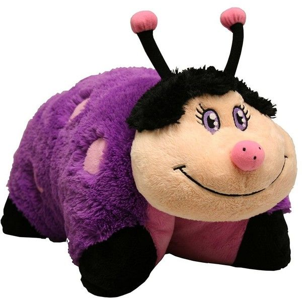 Dreamy Ladybug Pillow Pets 11 inch Pee Wees