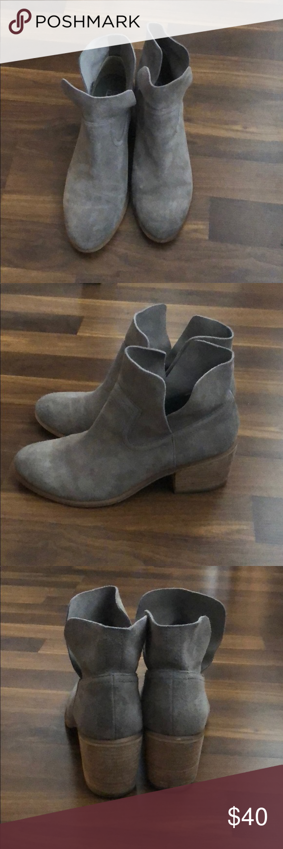26f6cecbf97 BP Brice Notched Booties Excellent Condition. Size 9.5. Worn only a handful  of times