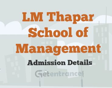 Admission Form For School New Lm Thapar Som Mba Admission 2017